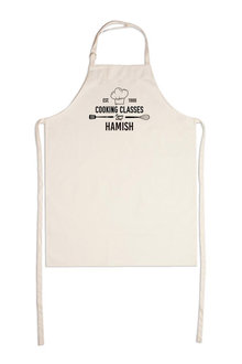 Personalised Cooking Class Apron - 240996