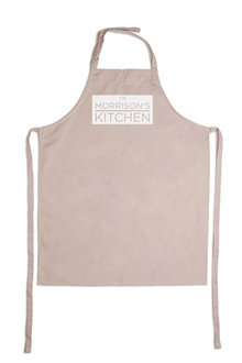 Personalised The Family Kitchen Apron