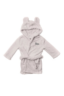 Personalised Kids Bear Robe