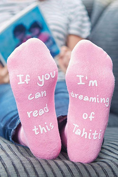Personalised Message Socks