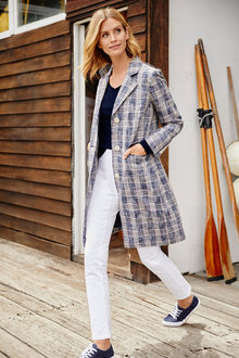 Capture Textured Check Coat