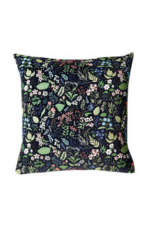 Midnight Garden Velvet Cushion