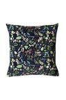 Midnight Garden Velvet Cushion