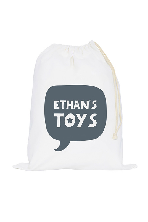 Personalised Canvas Toy Sack