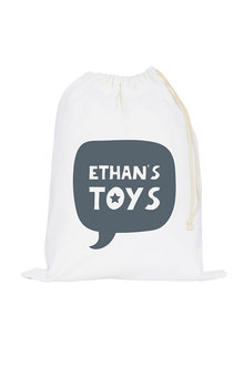 Personalised Canvas Toy Sack - 241024
