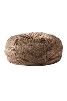Lodge Faux Fur Beanbag