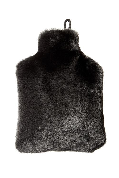 Lodge Faux Fur Hot Water Bottle Cover