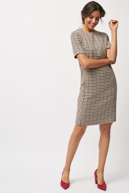 Next Short Sleeve Shift Dress
