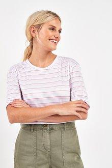 Next Rainbow Stripe T-Shirt