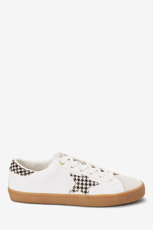 Next Forever Comfort Star Lace-Up Trainers