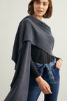 Capture Merino Ribbed Cape