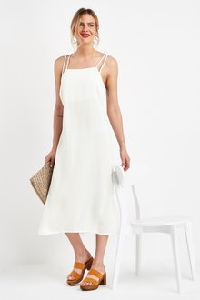 Next Square Neck Dress