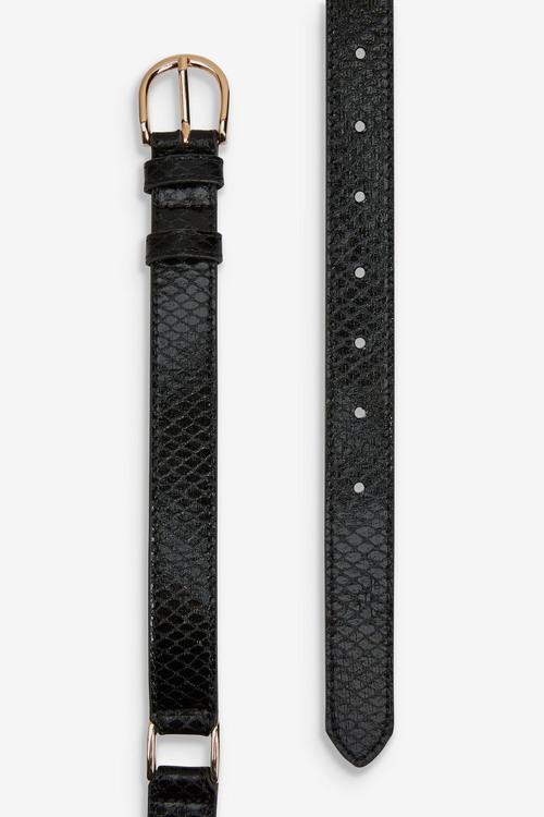 Next Snaffle PU Waist Belt