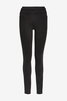 Next Sculpt Pull-On Denim Leggings-Tall