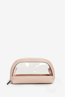 Next Small Transparent Make-Up Bag
