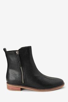 Next Forever Comfort Side Zip Ankle Boots