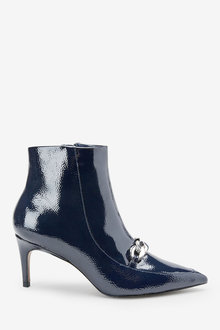 Next Forever Comfort Chain Detail Ankle Boots