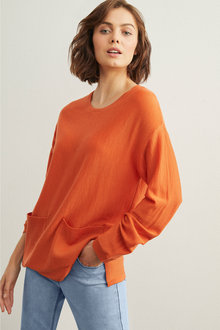 Capture Merino Boxy Sweater - 241207