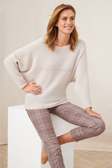 Capture Merino Pointelle Sweater - 241208