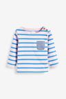 Next Stripe Boat Neck T-Shirt (3mths-7yrs)