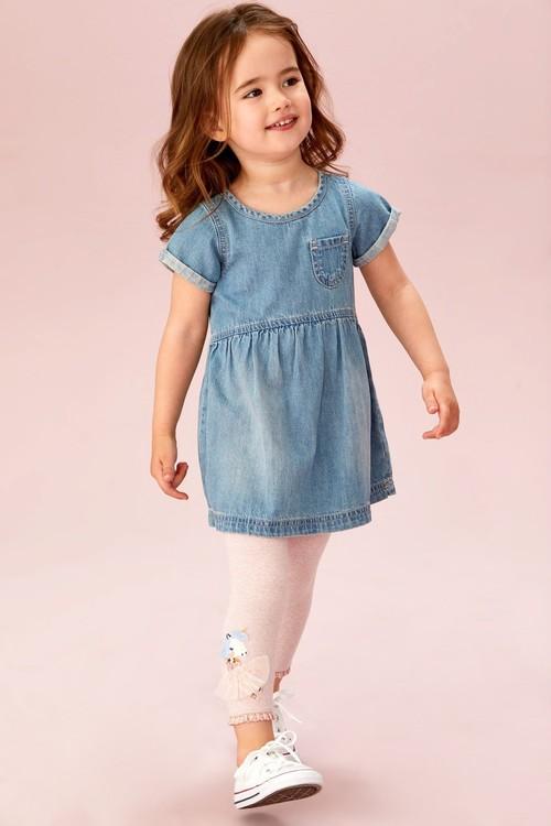 Next Unicorn Doll Embellished Leggings (3mths-7yrs)