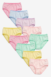 Next Stripe Briefs Ten Pack (1.5-16yrs) - 241225
