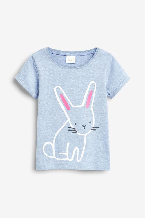 Next Bunny Short Sleeve T-Shirt (3mths-7yrs)