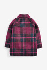 Next Wool Check Coat (3mths-7yrs)