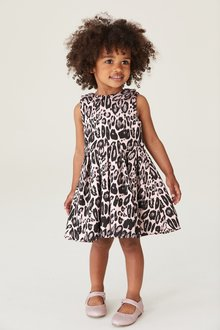 Next Animal Jacquard Prom Dress (3mths-7yrs)