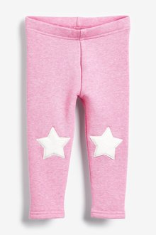 Next Fleece Lined Leggings (3mths-7yrs)