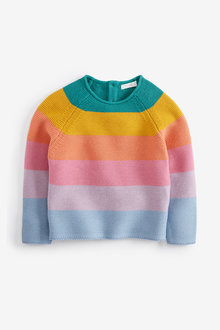 Next Stripe Textured Jumper (3mths-7yrs)