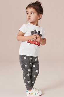 Next Glitter Star Joggers (3mths-7yrs)