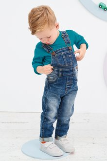 Next Authentic Dungarees (3mths-7yrs)