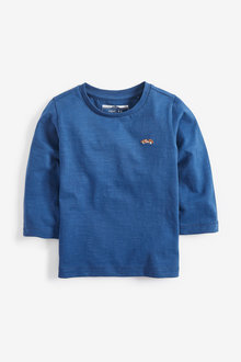 Next Long Sleeve Plain T-Shirt (3mths-7yrs)