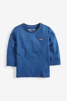 Next Long Sleeve Plain T-Shirt (3mths-7yrs)