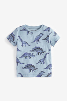Next Dino All Over Print T-Shirt (3mths-7yrs)