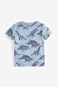 Next Dino All Over Print T-Shirt (3mths-7yrs)