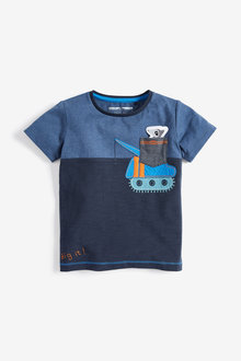 Next Applique Pocket T-Shirt (3mths-7yrs)