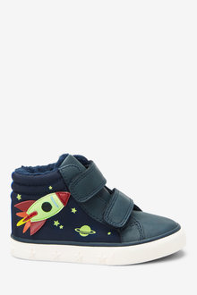Next Rocket Double Strap Skate Boots (Younger)