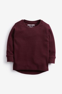 Next Long Sleeve Textured T-Shirt (3mths-7yrs)