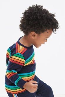 Next Long Sleeve Stripe T-Shirt (3mths-7yrs)