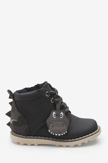 Next Dinosaur Lace-Up Boots (Younger)