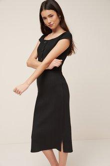 Next Rib Dress - 241361