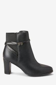 Next Forever Comfort Heeled Ankle Boots