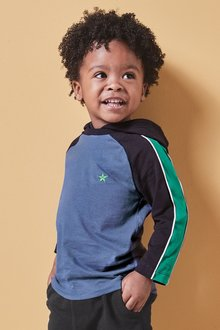 Next Long Sleeve Raglan Hoody (3mths-7yrs)