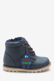 Next Robot Lace-Up Boots (Younger)