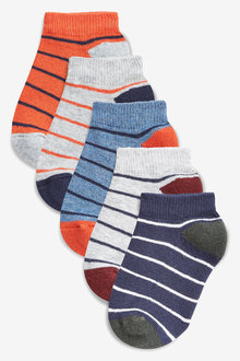 Next Cushioned Sole Trainer Socks Five Pack (Younger)