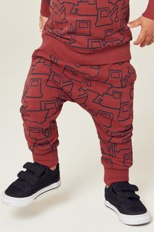 Next Digger All Over Print Joggers (3mths-7yrs)