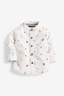 Next Long Sleeve Animal Print Shirt (3mths-7yrs)
