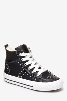 Next Studded High Top Trainers (Older)